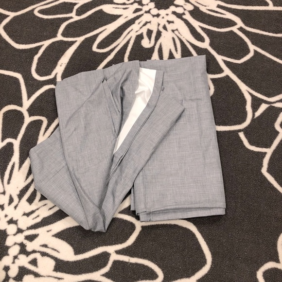 Set of Two Heather Gray Blackout Curtains